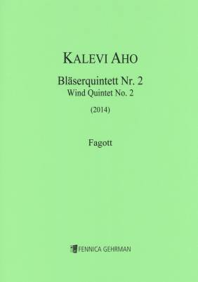 Wind Quintet No. 2 / Puhallinkvintetto No. 2 (2014) : parts