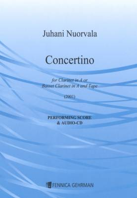 Concertino for Clarinet and Soundtrack