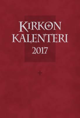 Kirkon viikkokalenteri 2017 (+ punaiset pujotuskannet, kynäpidike)