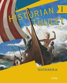 Historian tuulet 1 Tehtäväkirja