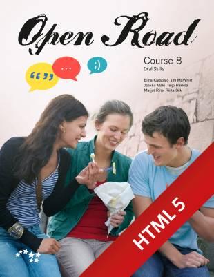 Open Road Course 8 digikirja 6 kk ONL