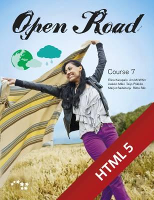 Open Road Course 7 digikirja 6 kk ONL