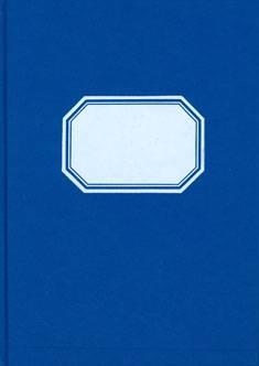 Konttorikirja 361 (suoraviivainen, A4, 192 sivua, numeroitu)