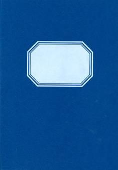Tilikirja 476 (2 rahasaraketta, A4, 96 sivua, sininen kiiltopahvikansi)