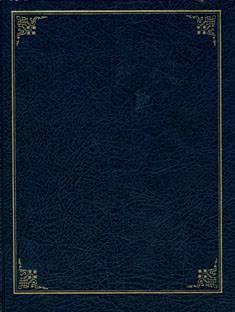 Vieraskirja (170x220 mm, tummansininen, 208 sivua)