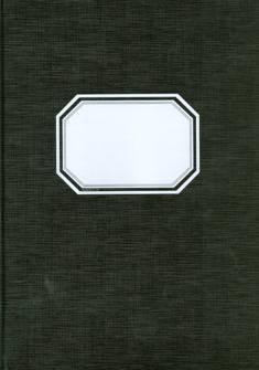 Konttorikirja (A4, 7x7, 288 numeroitua sivua, mustakantinen)