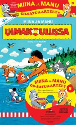 Miinan ja Manun cd-satuaarteet  8 (2 kirjaa + cd-levy)