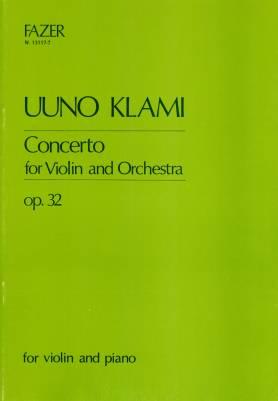 Concerto pour violon / Violin Concerto op 32