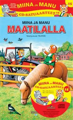 Miinan ja Manun cd-satuaarteet 15 (2 kirjaa + cd-levy)