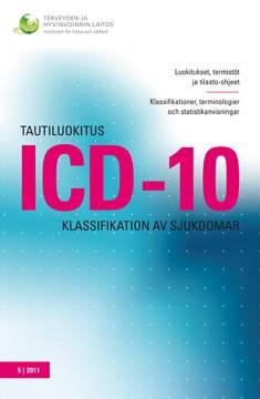 Tautiluokitus ICD-10 - Klassifikation av sjukdomar