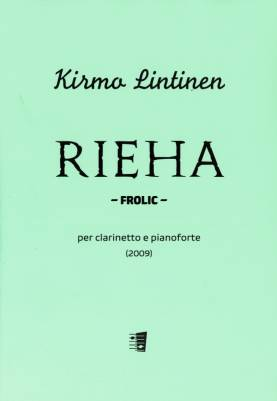 Rieha / Frolic for clarinet and piano