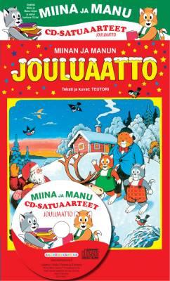 Miinan ja Manun jouluaatto (kirja+cd)