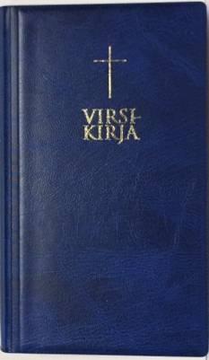 Virsikirja TA (kirkkovirsikirja, 120x200 mm, sininen, uudistettu)