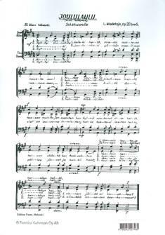 Joululaulu Op. 20b/5/ arkihuolesi kaikki heitä