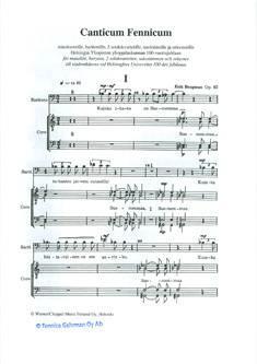 Canticum Fennicum Op. 62