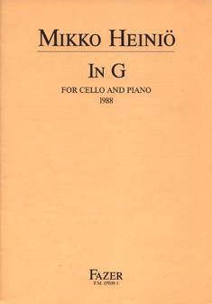 In G for Cello and Piano
