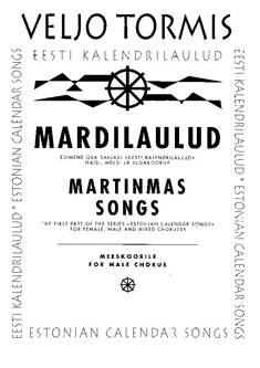 Mardilaulud / Martinmas Songs