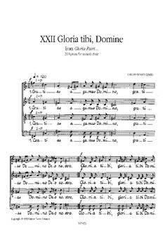 Gloria tibi, Domine