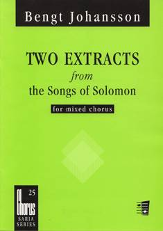 Two Extracts from the Songs of Solomon