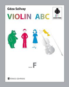 Colourstrings Violin ABC (Book F)
