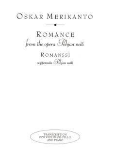 Romanssi oopperasta Pohjan neiti / Romance