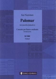 Palomar - Concerto for Flute and Orchestra: Study score