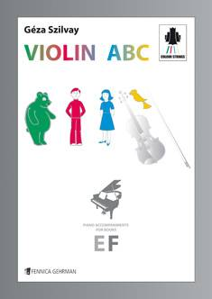 Colourstrings Violin ABC, Piano Accompaniments for Books E & F