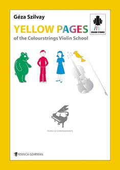 Yellow Pages of the Colourstrings Violin School, Piano Accompaniments