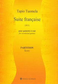 Suite française for wind quintet - Score  & parts