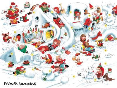 Kunnas joulukalenteri