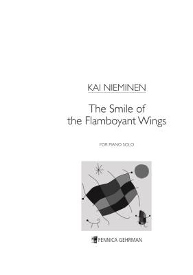 The Smile of the Flamboyant Wings : solo piano