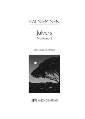 Julvers (Notturno II) : violin and piano