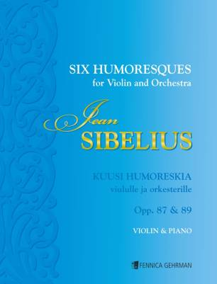 Six Humoresques op. 87 & 89 : violin and piano