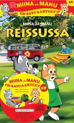 Miinan ja Manun cd-satuaarteet 28 (2 kirjaa + cd-levy)