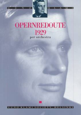 Opernredoute 1929 op. 20 : study score