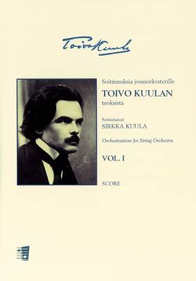 Soitinnuksia jousiorkesterille VOL. 1 Orchestrations for String Orchestra