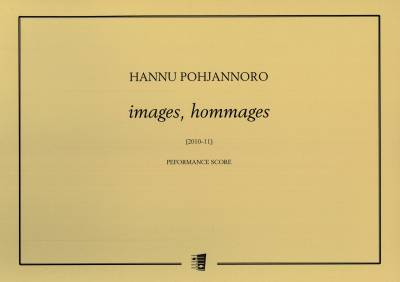 Images, hommages : performance score (for one musician)