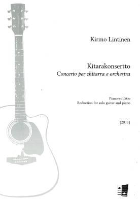 Concerto for Guitar : Kitarakonsertto (gt, pf)