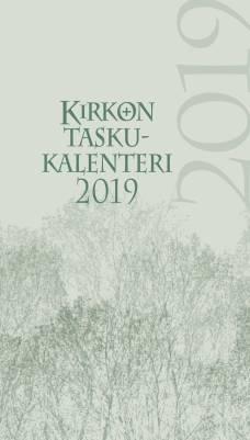 Kirkon taskukalenteri 2019 (pelkkä vuosipaketti)