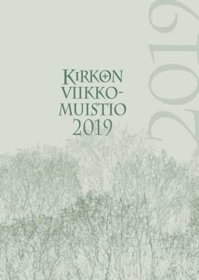Kirkon viikkomuistio 2019 (pelkkä vuosipaketti)