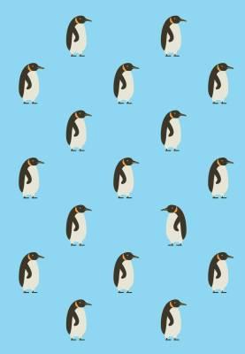 Muistikirja Pingviinit