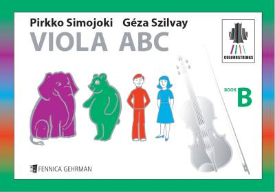 Colourstrings Viola ABC (Book B)