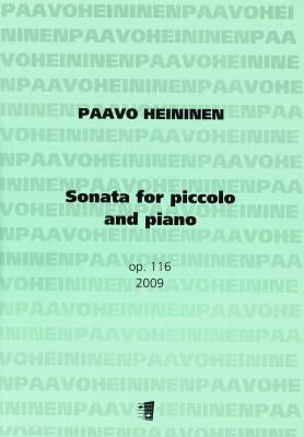 Sonata for piccolo and piano op. 116 (2009)