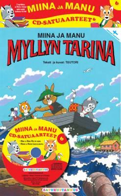 Miinan ja Manun cd-satuaarteet  6 (2 kirjaa + cd-levy)