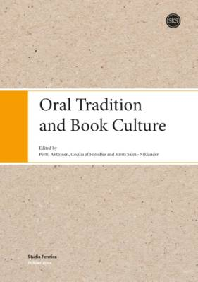 Oral Tradition and Book Culture