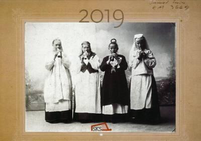 SKS:n seinäkalenteri 2019: Runonlaulajat, loitsijat ja itkijät