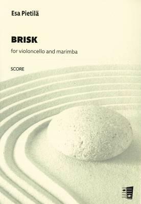 Brisk, for violoncello and marimba