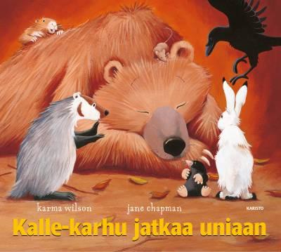 Kalle-Karhu jatkaa uniaan