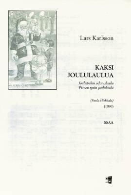 Kaksi joululaulua (SSAA)