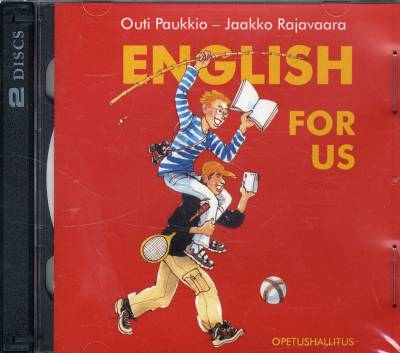 English for Us (2 cd-levyä)